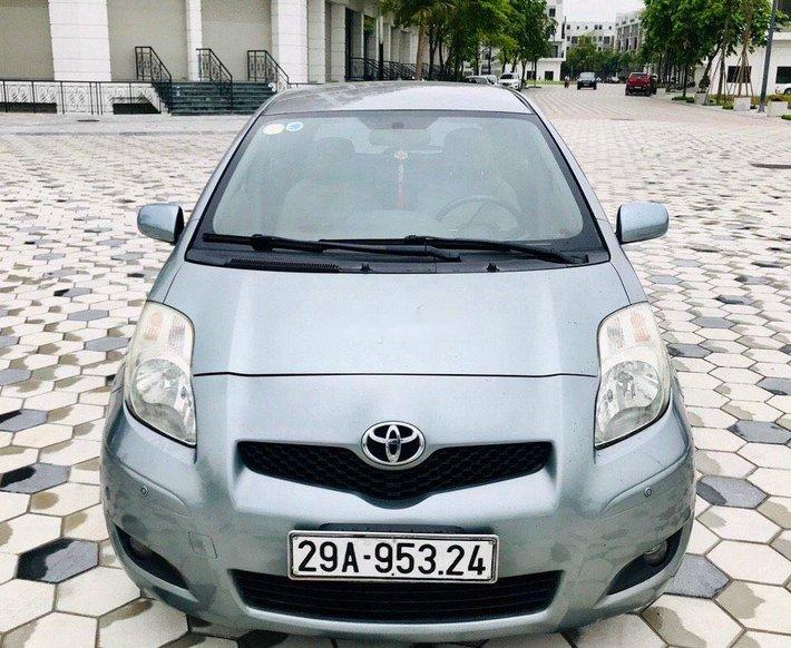 Xe Toyota Yaris đời 2008, màu xanh lam, nhập khẩu nguyên chiếc0