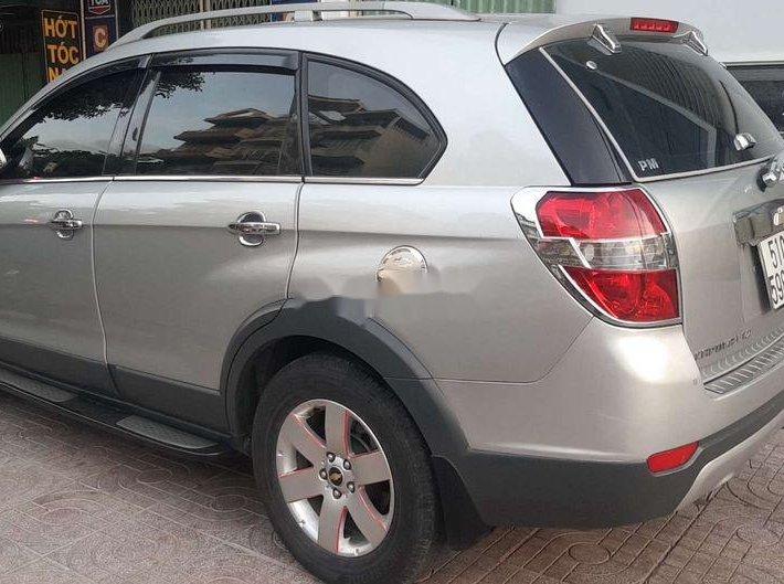 Bán xe Chevrolet Captiva năm sản xuất 2007, màu bạc xe gia đình, giá tốt0