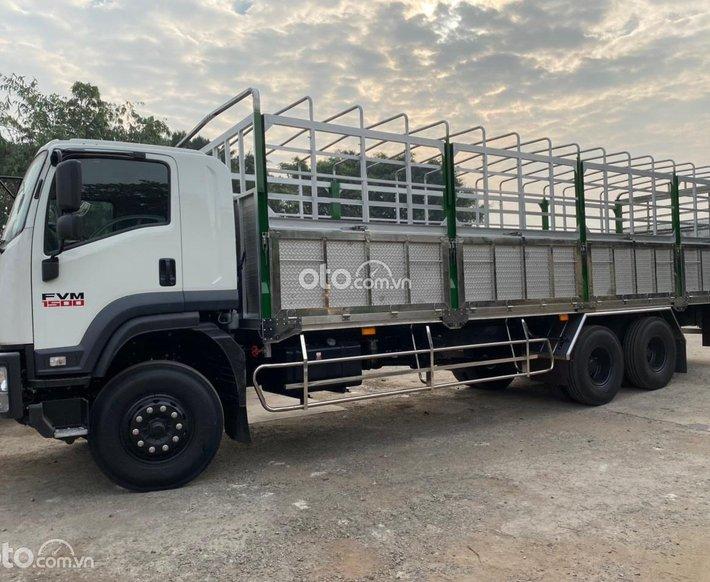 Bán xe tải Isuzu thùng mui bạt tải trọng 15 tấn Isuzu FVM0