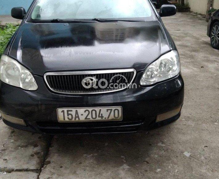 Cần bán lại xe Toyota Corolla Altis 2003, màu đen, nhập khẩu, 115 triệu0
