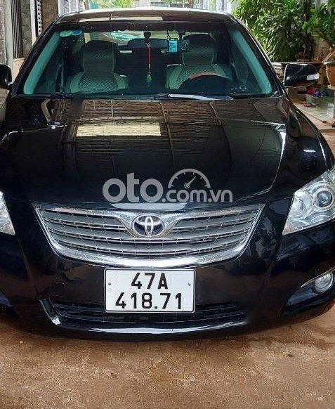 Cần bán lại xe Toyota Camry năm 2007, màu đen chính chủ, giá tốt0