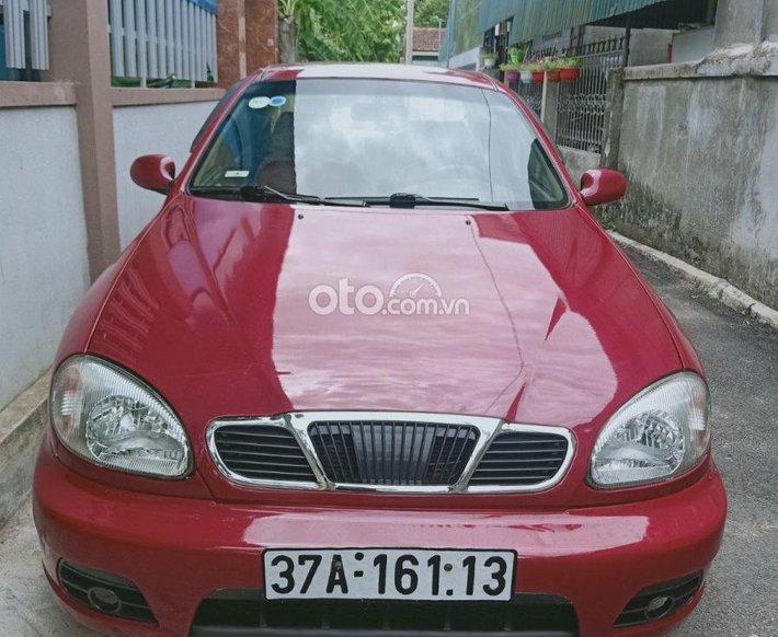 Bán ô tô Daewoo Lanos sản xuất 2000, màu đỏ còn mới0
