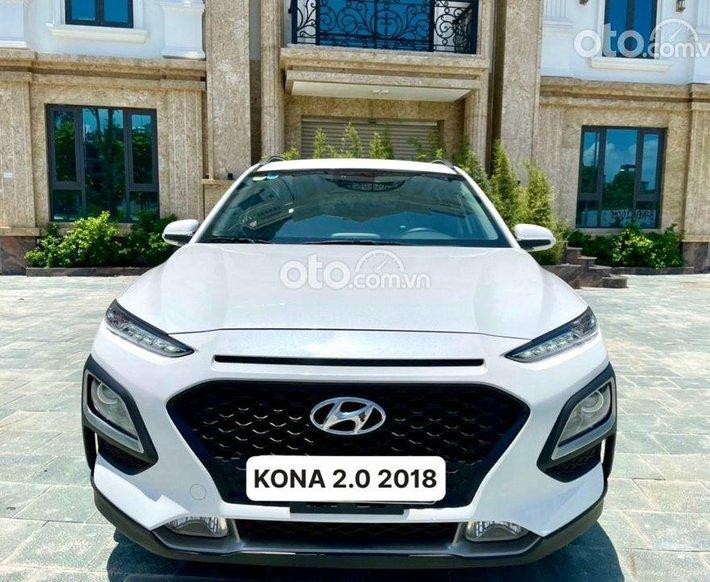 Bán Hyundai Kona đời 2019, màu trắng chính chủ, giá chỉ 615 triệu0