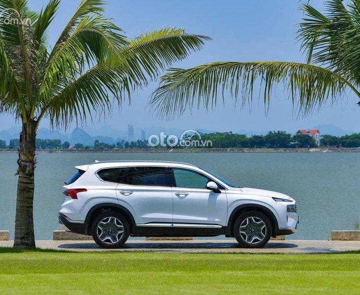 New Hyundai Santa Fe _ 2021 siêu ưu đãi lên đến 100tr, tặng PK hỗ trợ bank 80%, thủ tục nhanh gọn giao xe ngay0