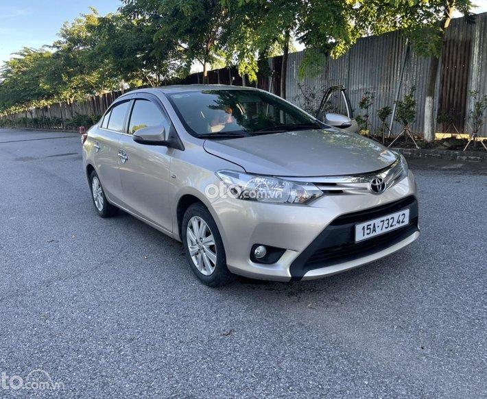 Xe Toyota Vios đăng ký 2016 ít sử dụng giá tốt 295tr0