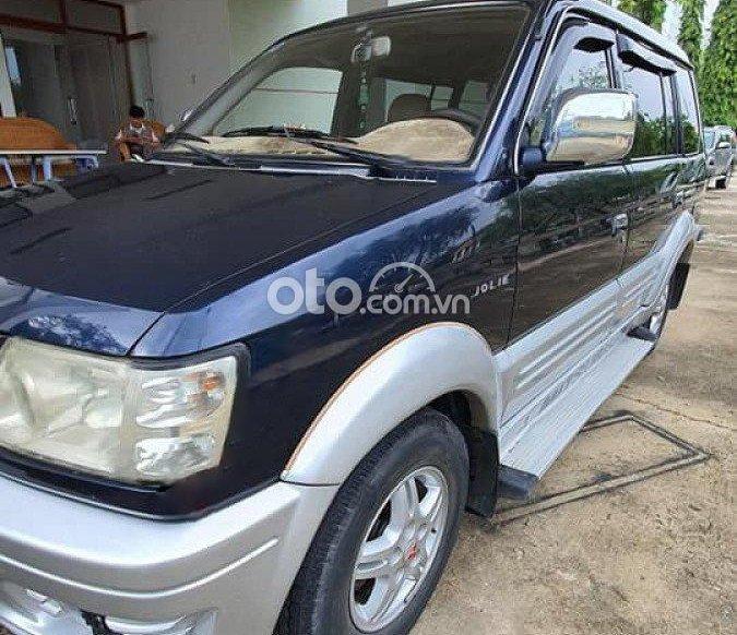 Cần bán Mitsubishi Jolie đời 2003, màu xanh lam còn mới0