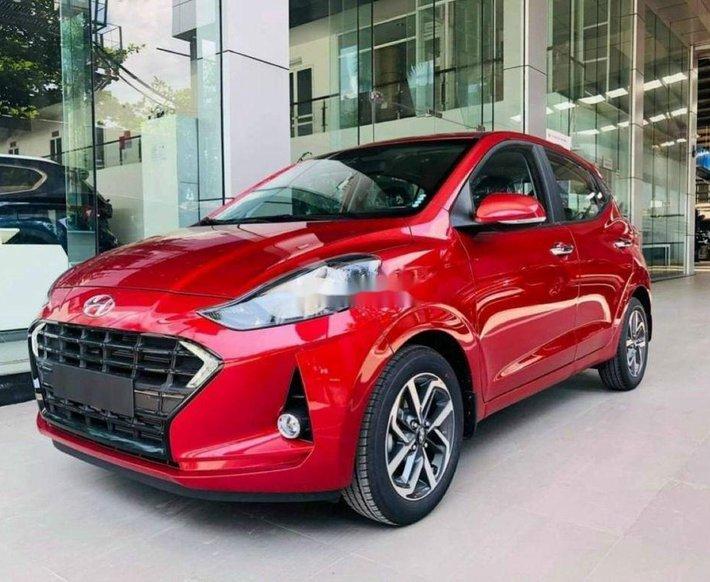 Bán ô tô Hyundai Grand i10 đời 2021, màu đỏ0