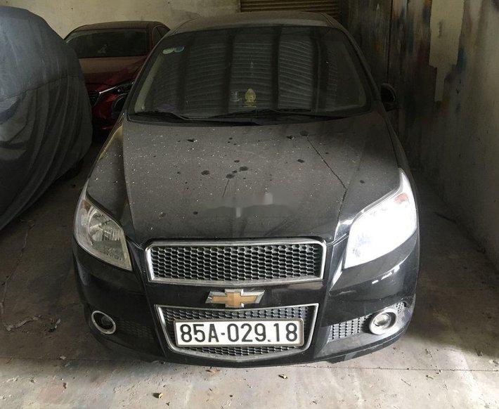 Bán ô tô Chevrolet Aveo đời 2018, màu đen0