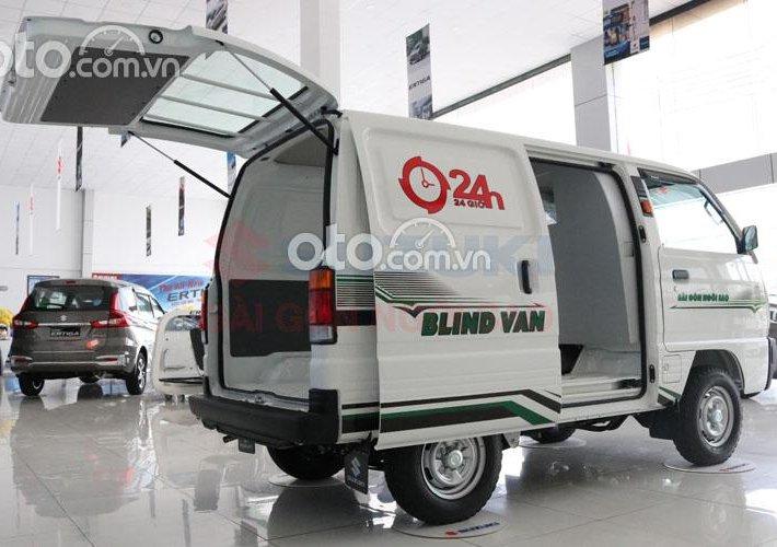 Xe tải van Suzuki Blind Van 2021 KM 100% thuế trước bạ + máy lạnh + BHVC0