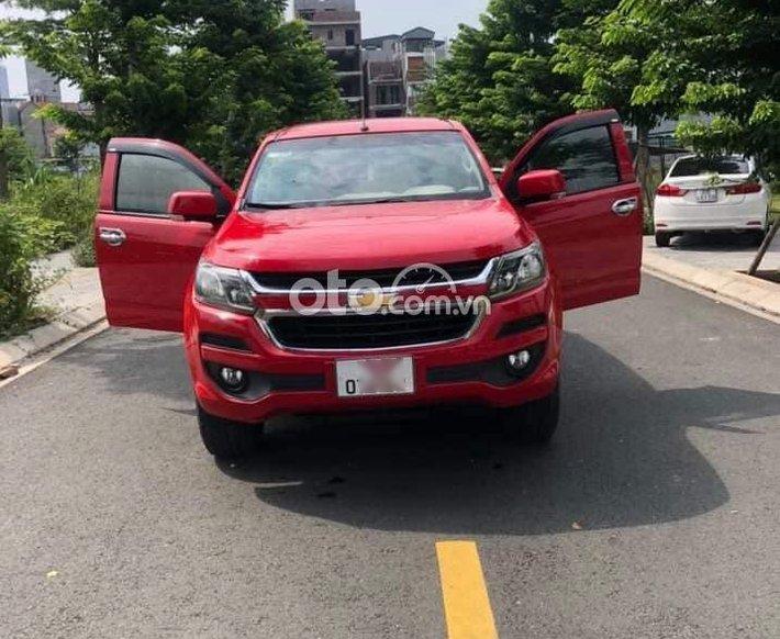 Cần bán Chevrolet Trailblazer 2018, màu đỏ, xe nhập chính chủ, giá 670tr0