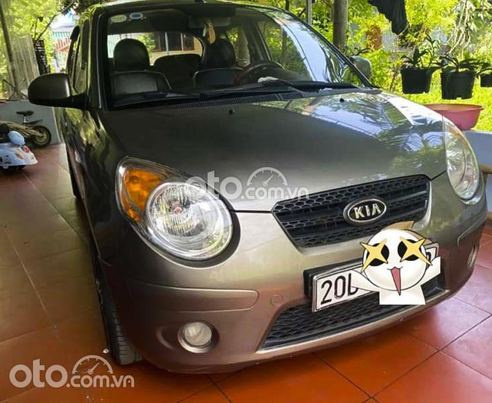 Cần bán gấp Kia Morning Van 1.0 AT năm sản xuất 2009, màu xám, xe nhập0