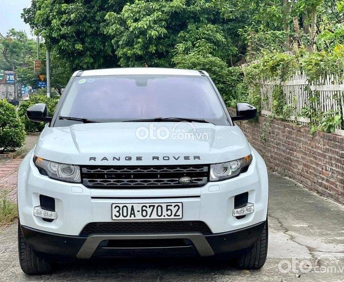 Cần bán Land Rover Range Rover Evoque sản xuất 2014, màu trắng, nhập khẩu nguyên chiếc0