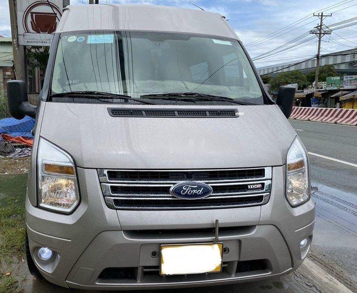 Bán Ford Transit sản xuất 2018, màu bạc0