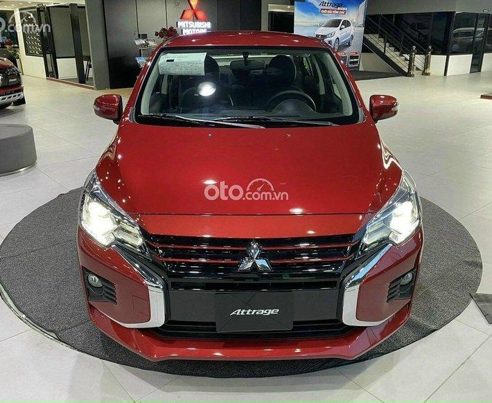Mitsubishi Attrage nhập Thái 100% tặng BHVC - hỗ trợ 50% thuế0