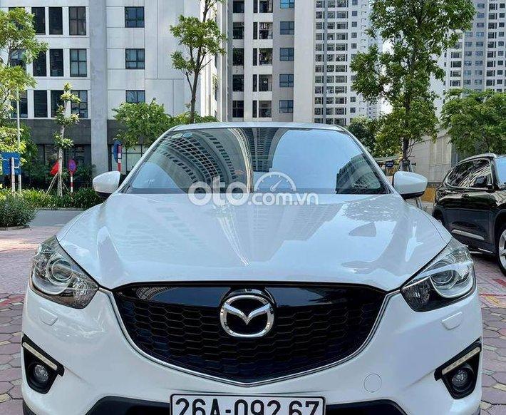Bán ô tô Mazda CX 5 năm sản xuất 2013, màu trắng, giá 530tr0
