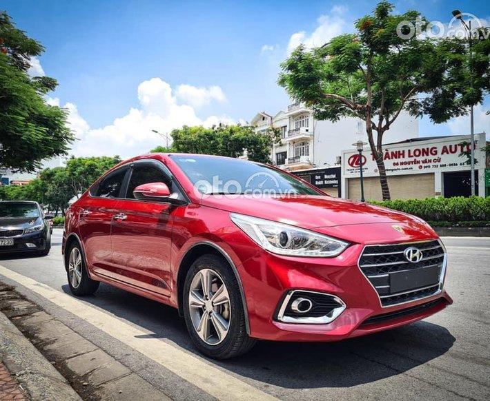 Bán ô tô Hyundai Accent 1.4AT đời 2019, màu đỏ giá cạnh tranh0