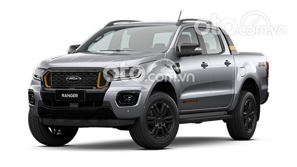 Cần bán xe Ford Ranger Wildtrak 2.0AT 4X4 Biturbo sản xuất 2021, màu bạc0