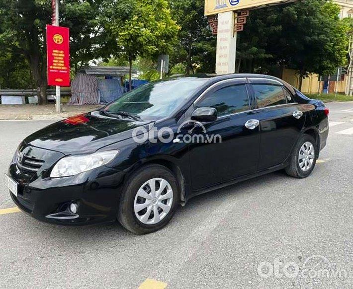 Cần bán xe Toyota Corolla XLi 1.6 AT sản xuất 2009, màu đen, xe nhập  0