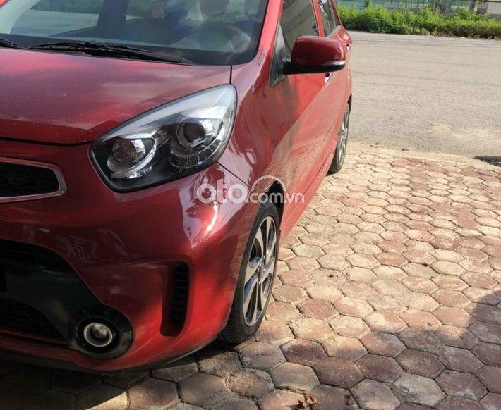 Cần bán xe Kia Morning AT sản xuất 2016, màu đỏ số tự động, giá 292tr0