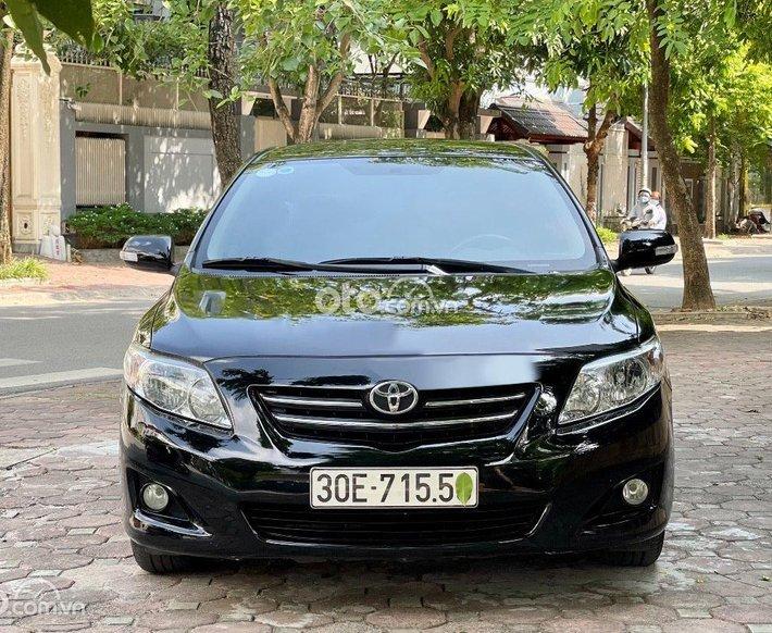 Cần bán Toyota Corolla LS 1.8 AT sản xuất năm 2009, màu đen, xe nhập còn mới0