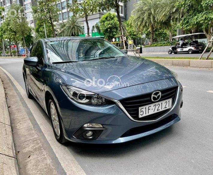 Bán Mazda 3 năm sản xuất 2016, màu xanh lam0