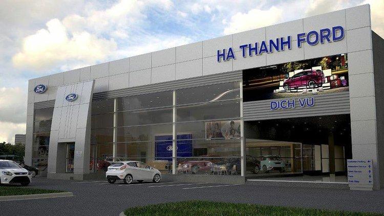 Hà Thành Ford - Trụ Sở Hoài Đức