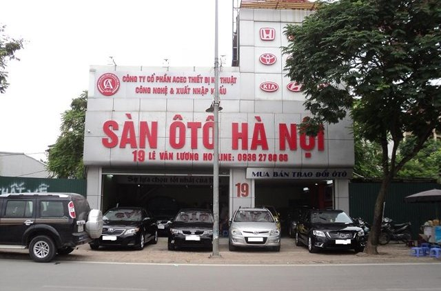 Sàn ô tô Hà Nội