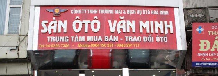 Sàn Ô Tô Văn Minh