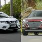 So sánh xe Hyundai Tucson 2019 và Nissan X-Trail V-Series 2019: Xe 5 chỗ vẫn hay hơn