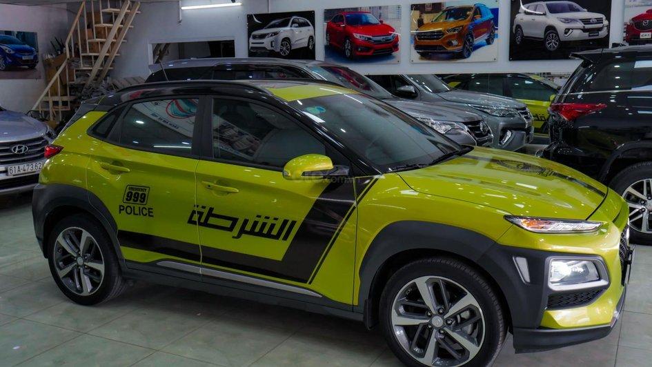 XE NGON GIÁ TỐT | Hyundai Kona 2019 1.6T màu xanh chuối độc đáo chờ chủ đón về giá chỉ 700 triệu. 5