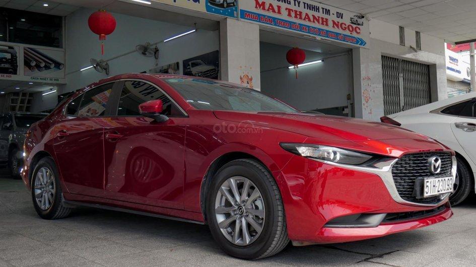 XE NGON GIÁ TỐT | Xe sedan lướt MAZDA 3 với ODO 12.000 km có giá chỉ hơn 600 triệu đồng. 5