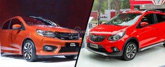 So sánh Honda Brio 2019 và VinFast Fadil 2020