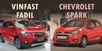 Chevrolet Spark 2019 và Vinfast Fadil 2019 giống và khác nhau ở đâu?