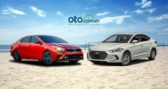 """So sánh Kia Cerato 2019 và Hyundai Elantra 2019: """"Đại chiến"""" xe Hàn Quốc"""