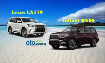 So sánh Lexus LX570 và Infiniti QX80: Thách thức đối thủ đồng hương