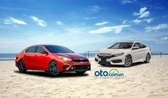 So sánh Kia Cerato 2019 và Honda Civic 2019