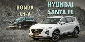 So sánh Hyundai Santa Fe 2019 và Honda CR-V 2019: Xe Hàn có kém hơn xe Nhật?