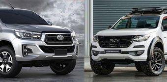 So sánh xe Toyota Hilux 2019 và Chevrolet Colorado 2019: Đại chiến bán tải Nhật - Mỹ
