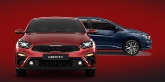 So sánh Honda City 2019 và Kia Cerato 2019: Chọn xe nào trong tầm giá dưới 600 triệu?