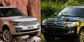 So sánh xe Toyota Land Cruiser 2019 và Land Rover Discovery 2019: SUV 3 tỷ chọn sao cho phải?