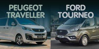 """So sánh xe Peugeot Traveller 2019 và Ford Tourneo 2019: Đại chiến MPV """"tân binh"""""""