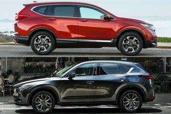 So sánh xe Mazda CX-5 2019 và Honda CR-V 2019: Công nghệ đấu thực dụng