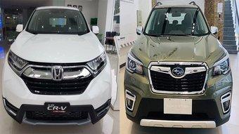 So sánh xe Subaru Forester 2019 và Honda CR-V 2019: cùng tầm giá hơn 1 tỷ, xe nào tốt?