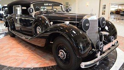 Mercedes-Benz đời 1941, 770K Grosser W150 Offener Tourenwagen.
