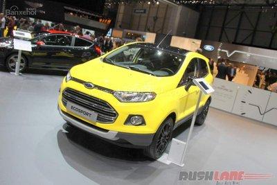 Ford EcoSport được xuất khẩu nhiều nhất tại Ấn Độ trong năm tài khóa 2016.