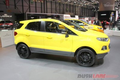 Ford EcoSport được xuất khẩu nhiều nhất tại Ấn Độ trong năm tài khóa 2016 1