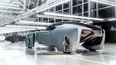 Hết BMW, đến lượt Mini & Rolls-Royce ra mắt concept Vision 100 12