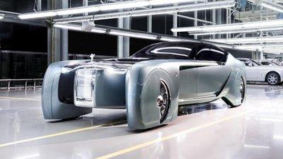 Hết BMW, đến lượt Mini & Rolls-Royce ra mắt concept Vision 100 11