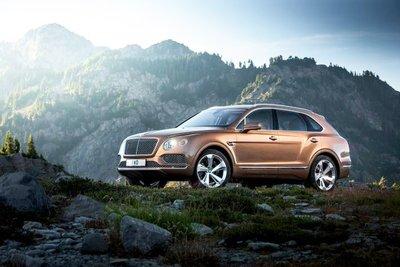 Bentley Bentayga chuẩn bị có biến thể Coupe z