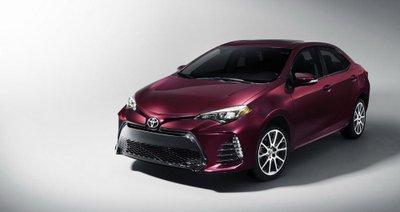Toyota Corolla 2017 chốt giá từ 19.365 USD tại thị trường Mỹ 1